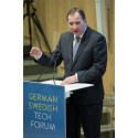 Stefan Löfven på German Swedish Tech Forum