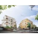 Lindbäcks bygger 105 lägenheter i Nacka åt Aros Bostad