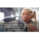 Varde får deres første Fitness World center