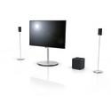 Loewe Subwoofer 300 tilfører bassen dimension, mens et tilkoblet Loewe TV kan fungere som centerhøjttaler