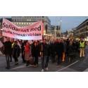 Många visade solidaritet med utsatta troende – se webbtv från opinionsmötet