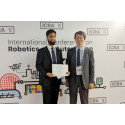 Junior Associate Professor Sajid Nisar receives the 2019 Young Award