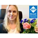 Microsoftutmärkelse till Carina Claesson – ytterligare en MVP på CRM-Konsulterna