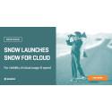 Snow lanserar Snow for Cloud - ger it-chefer kontroll över kostnader och användning av molntjänster