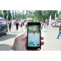 Stora Nolia första mässan med Pokémon Go-vandring