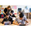 Elever vid Grimstaskolan testar Pratstart