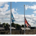 Council flags lowered for Somme centenary