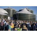 Danmarks største biogasanlæg er i luften
