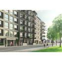 Lägenheter för 55+ byggs i Västra hamnen