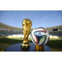 VM-bolden er klar til Brasilien