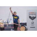 Juniorvärldsmästaren Ferry Svan knackar på dörren till svenska landslaget i Timbersports