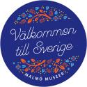 Välkommen till Sverige, en utställning om människor på flykt.