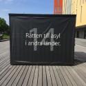 Den första september invigs Malmös kub för mänskliga rättigheter i Kungsträdgården