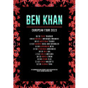 BEN KHAN - Announces UK/EU Autumn Headline Tour Dates