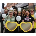 2 today! Vision Express Camden marks its second birthday with an awareness-raising event for macular disease