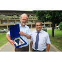 Terje Heggernes hedret på Sri Lanka