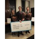 Anton Eriksson är vinnaren av Delphis studentstipendium