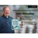 """Meet author of """"The Death's Head Chess Club"""" at Ramsbottom Library"""
