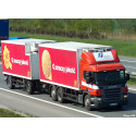 Scania, HAVI and McDonald's collaborate and innovate to reduce CO2 emissions in Supply Chain.