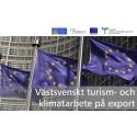 Västsvenskt turism- och klimatarbete på export