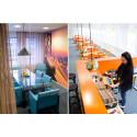 Codesign skapar en sitcom-inspirerad kontorsmiljö åt Magine