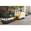 Samarbete minskar antalet tunga transporter i centrala Malmö