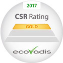 EcoVadis Gold –sertifiointi Toyota Material Handling Finland Oy:lle