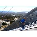 Konica Minolta er hovedsponsor for KollenOpp, - Oslos nye og mest spektakulære trappeløp