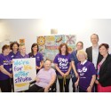 ​Mosaic unveiling kicks of Action on Stroke Month at Blackpool Victoria Hospital