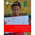 Ny rapport med barns vittnesmål: uppdraget kvarstår ett år efter Haiyan