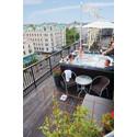Ny relax på Mornington Hotel Stravaganzas takterrass