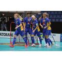 Sverige vann överlägset mot Tyskland  i VM-premiären i Bratislava