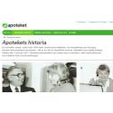Apotekets historia berättas på ny historiewebb från Centrum från Näringslivshistoria