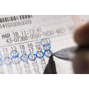 Nyslåede Lotto-millionærer i Køge, Lolland, Solrød og Vejen kommune