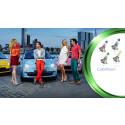 Philipsiltä värikkäät ajovalot autoille