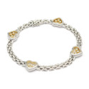 Moderna 16/1, Nr: 234, CHOPARD, armband, Happy diamonds, 18K vitguld
