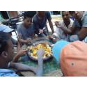 Lunchpaus på Riad Magi