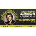 Niklas Strömstedt till Marenplan 14 juli!