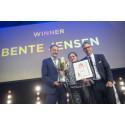 Butikschef Bente Jensen fra Circle K i Vordingborg blev rørt til tårer over at modtage den prestigefulde pris som årets butikschef i Circle K