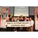 Vara Årets nyföretagarkommun 2011