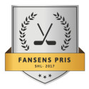 Everysport lanserar Fansens Pris - SHL 2017