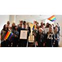 Idag HBTQ-certifierades kommunanställda