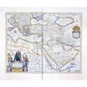 En karta över Osmanska riket