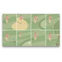 Animerade golfregler av MMG för Svenska Golfförbundet