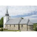 Vejrum Kirke er en af de største kvaderstenskirker i Jylland