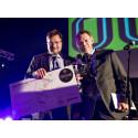 Tobias Karlsson och Mikael Pettersson Engström, Urshultsbagarn, är Årets Företagare i bageribranschen