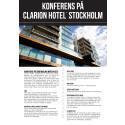 Clarion Hotel Stockholm - Konferens