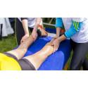 Flexmassage bidrar till löparnas återhämtning