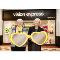 A day of 20th birthday celebrations for Vision Express Rochdale during Macular Week 2016