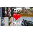Lansa satsar på elbilsladdning med Eways